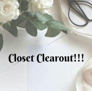 Other - Closet clear out !!! Read description